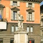 Municipal ancient fountain — Stock Photo