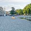 Reggio Emilia. Fountain — Stockfoto