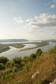 Volga. Zhiguli Mountains — Stock Photo