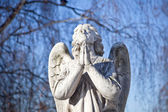 Prayer angel — Stock Photo