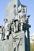 Monument to Taras Shevchenko, the fragment — Stock Photo