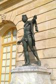 Sculptures of palace complex Versailles — Stock Photo