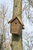 Nest box — Stock Photo