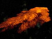 Strani mondi. galassia — Foto Stock