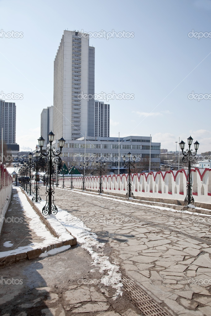 Hotel complex is in Izmaylovo. City Moscow  Stock Photo #9802996