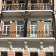 Balconies — Stock Photo