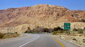 Highway near Dead sea — Stock Photo