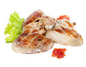 Chicken wings grilled — Stock Photo