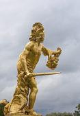 Perseus met het hoofd van de medusa gorgonen (mythologie. — Stockfoto