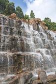 Artificial waterfall — Stock Photo