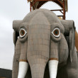 Lucy the Margate Elephant Atlantic City New Jersey — Stock Photo