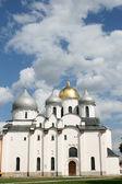 Saint Sophia cathedral in Great Novgorod — Stock Photo
