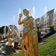 Grand Cascade Fountains of Peterhof Palace — Stock Photo #9905438