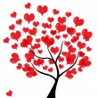 Love tree — Stockvector #8692255