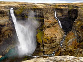 Haifoss and Granni — Stock Photo