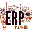 ERP in word tag cloud — Stock Photo #8017573