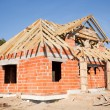 New house under construction — Stock Photo #8017883