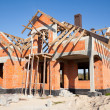 New house under construction — Stock Photo #8599309