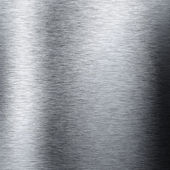 Aluminum metal background with reflections — Stock Photo