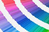 Pantone 颜色取样器产品目录 — 图库照片