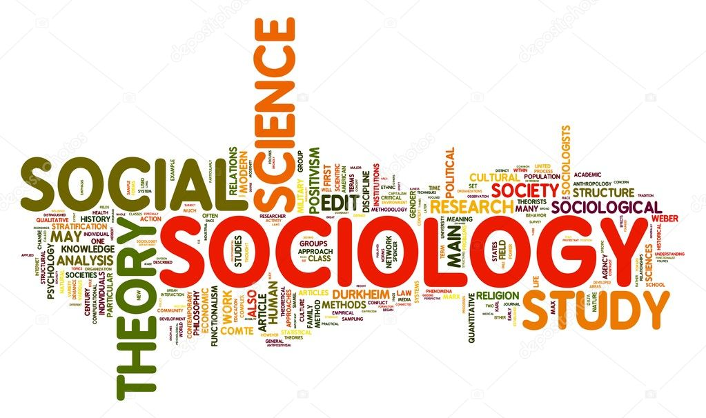 Sociology concept in word tag cloud — Stock Photo #8597805