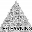 E-learning concept in tag cloud — Stock Photo #8745412
