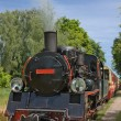 Stock Photo: Vintage steam engine train