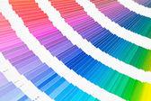 Pantone color sampler katalog — Stockfoto