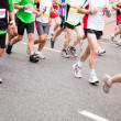 Stock Photo: Running in marathon