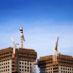 Building office scyscrapers — Stock Photo #8875948