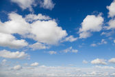 Blue sky with white clouds — Stock Photo