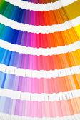 Catalogo di campionatore colore pantone — Foto Stock