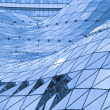 Glass roof in modern building — Stock Photo #8950458