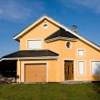 Single family small house — Stock Photo