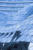 Szklany dach w nowoczesnym budynku — Zdjęcie stockowe