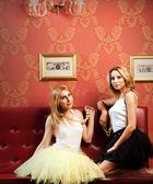Fashion Girls — Stock Photo