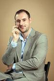 Business Man Portrait — Stock Photo