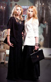 Ragazze moda — Foto Stock