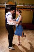 Die Verführung-Tanz — Stockfoto