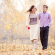 Couple outdoor — Stock Photo #10231989
