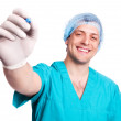 Stock Photo: Surgeon with a pen