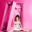 Doll in the box — Stock Photo #8560384
