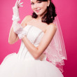Beautiful bride — Stock Photo #9093161
