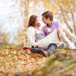 Couple outdoor — Stock Photo