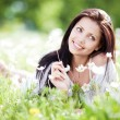 Stock Photo: Woman outdoors