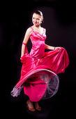 Beautiful dancer — Zdjęcie stockowe