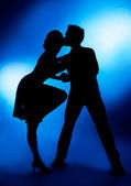 Dancing couple — Stock Photo