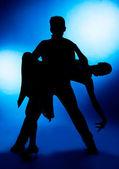 Taneční pár — Stock fotografie