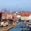 Stock Photo: Panorama of Gdansk