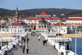 Pier in Sopot — Stock Photo